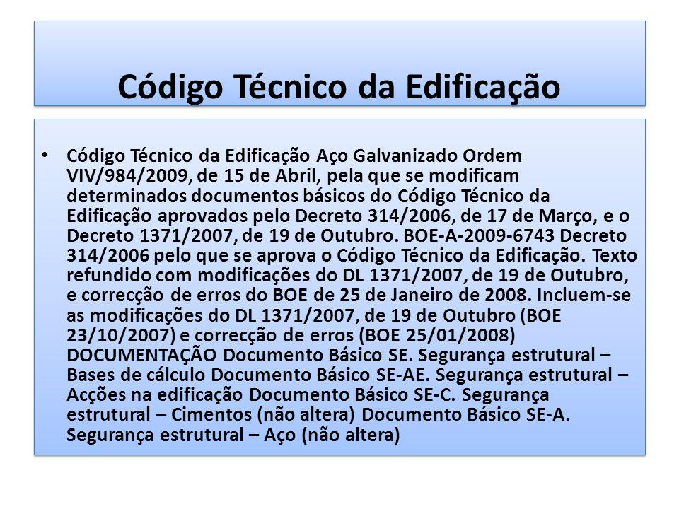 Código Técnico da Edificação