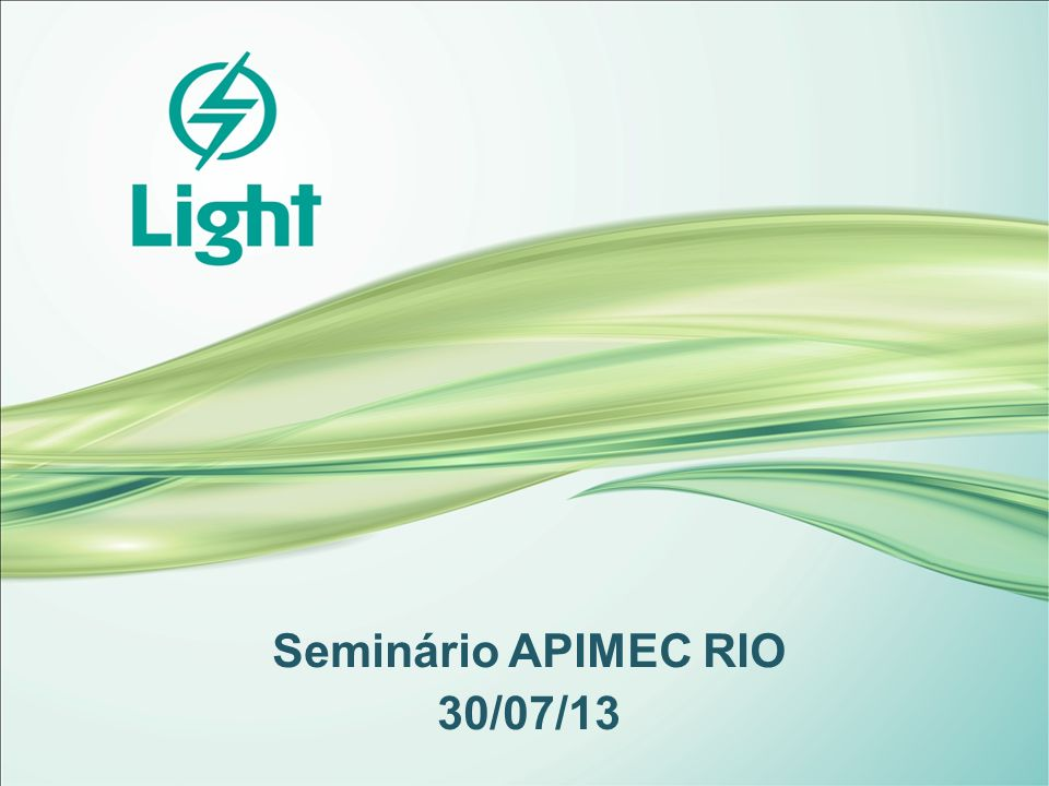 Seminário APIMEC RIO 30/07/13