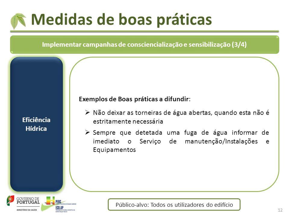 Implementar campanhas de consciencialização e sensibilização (3/4)