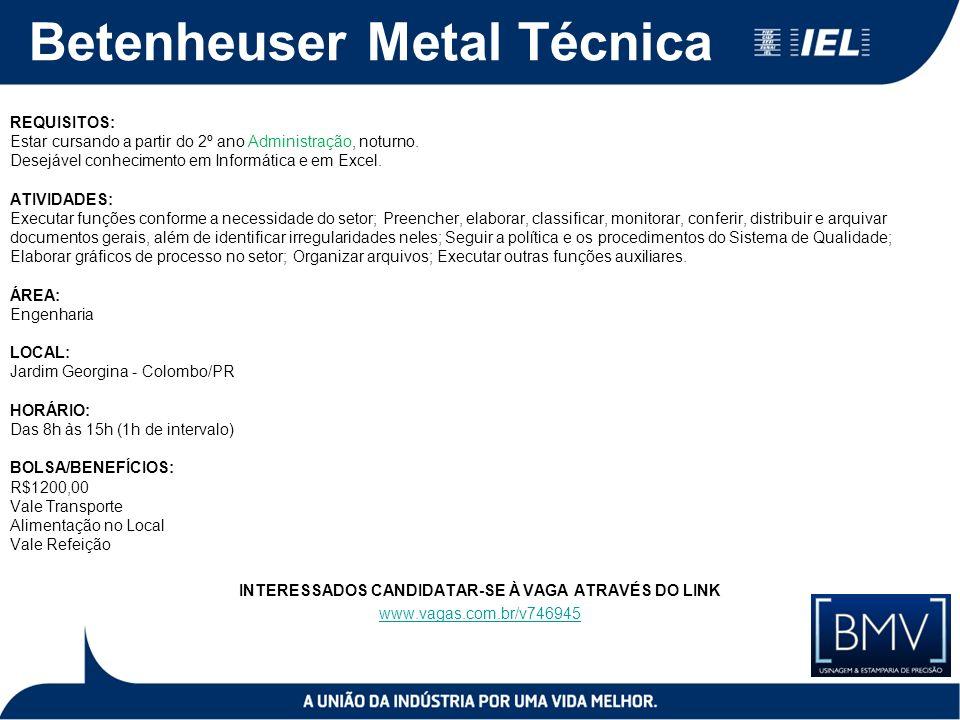 Betenheuser Metal Técnica