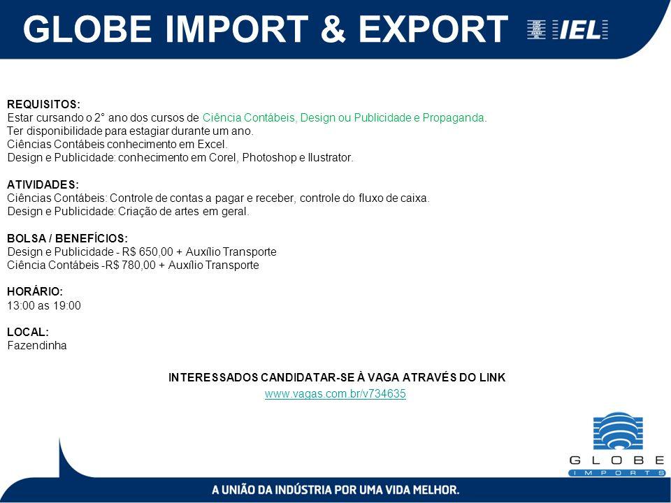 GLOBE IMPORT & EXPORT