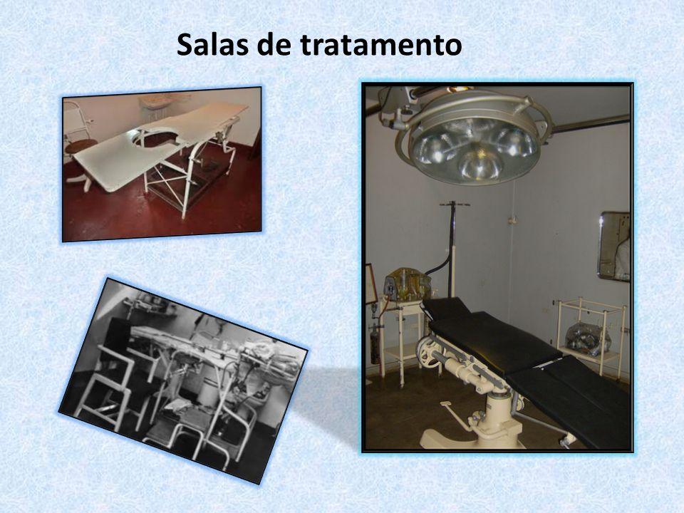 Salas de tratamento