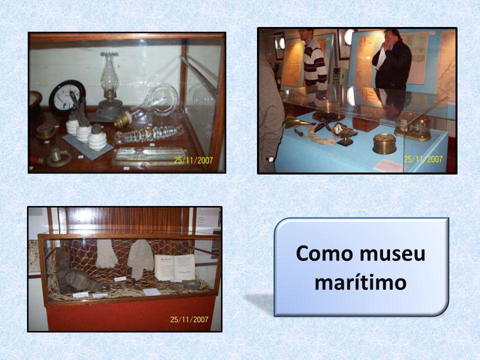 Como museu marítimo