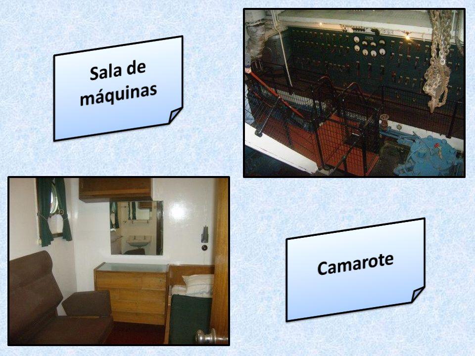 Sala de máquinas Camarote