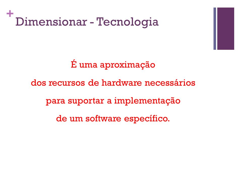 Dimensionar - Tecnologia