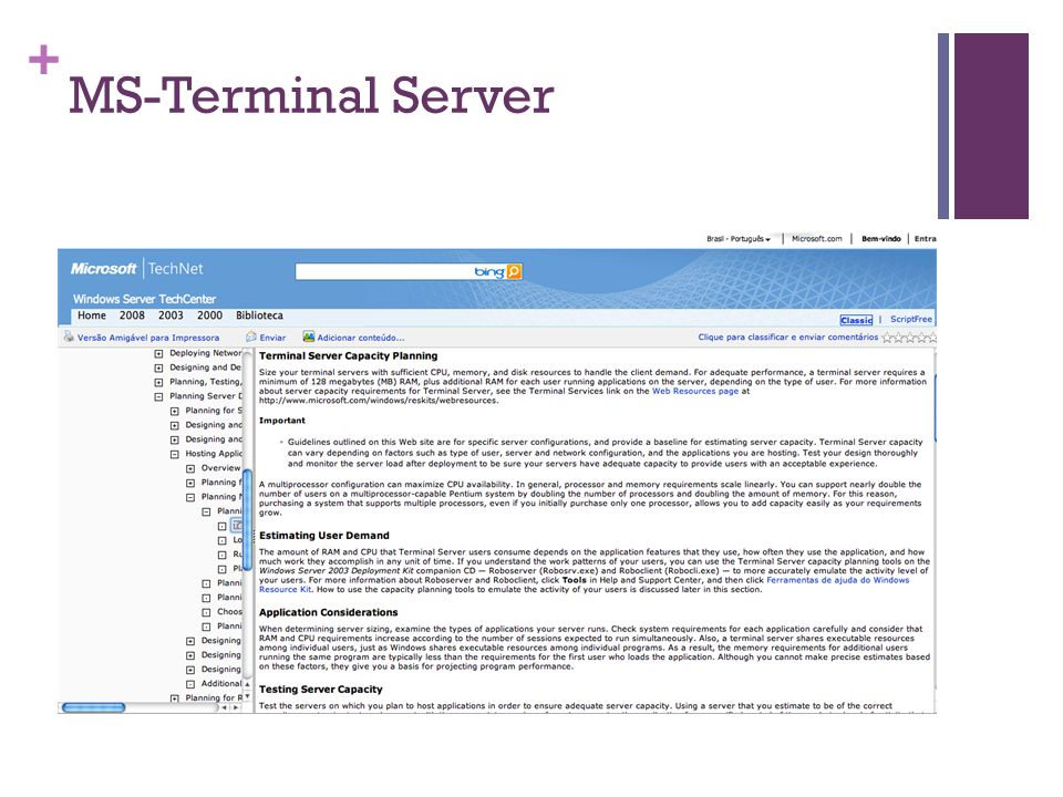 MS-Terminal Server