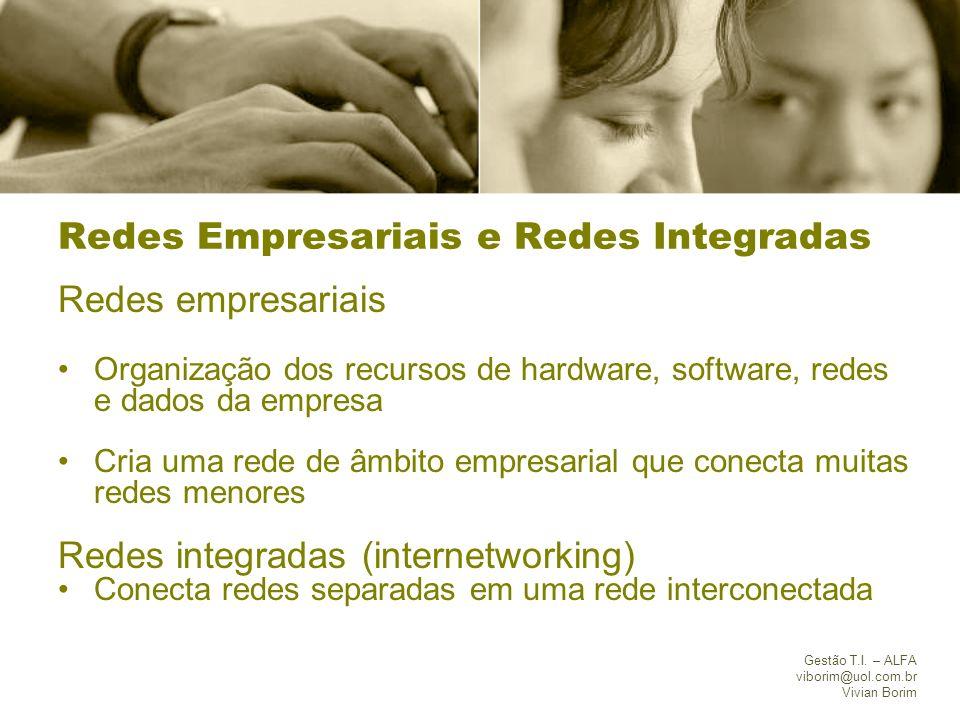 Redes Empresariais e Redes Integradas