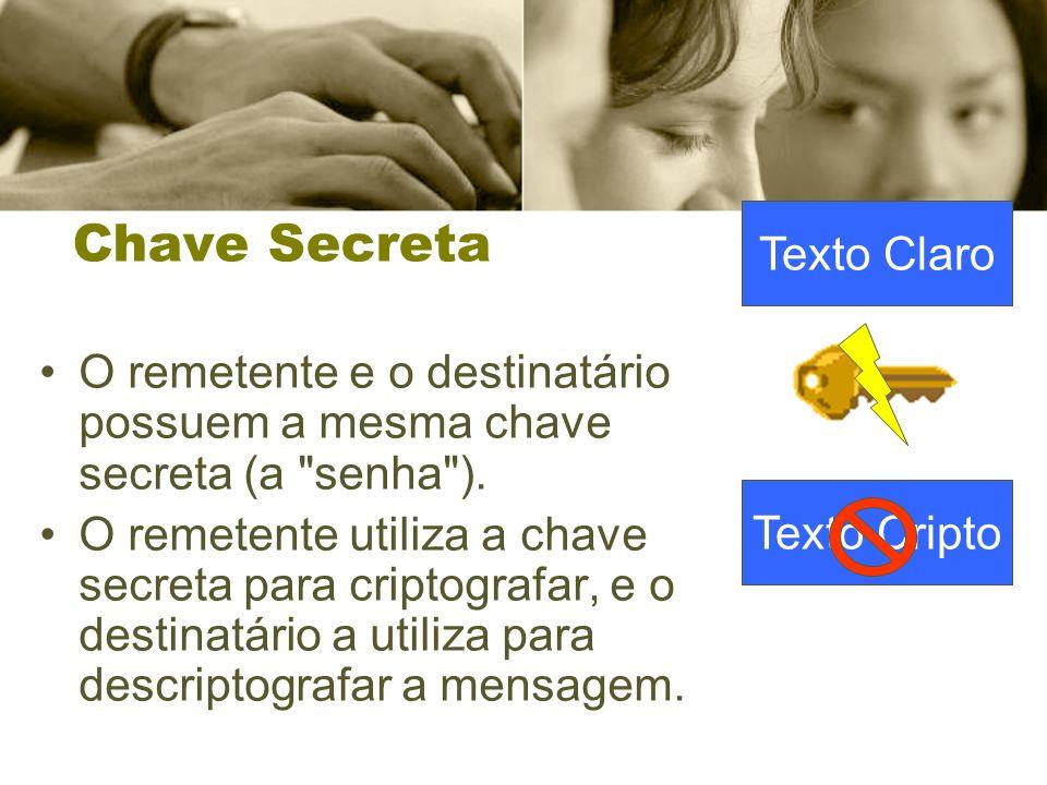Chave Secreta Texto Claro