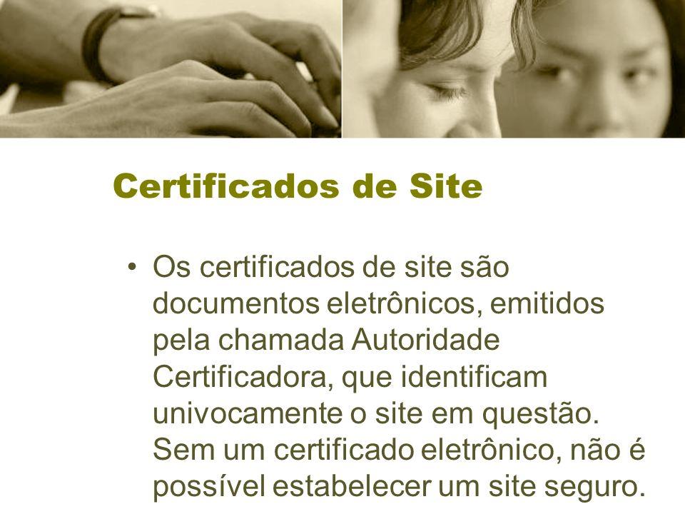 Certificados de Site