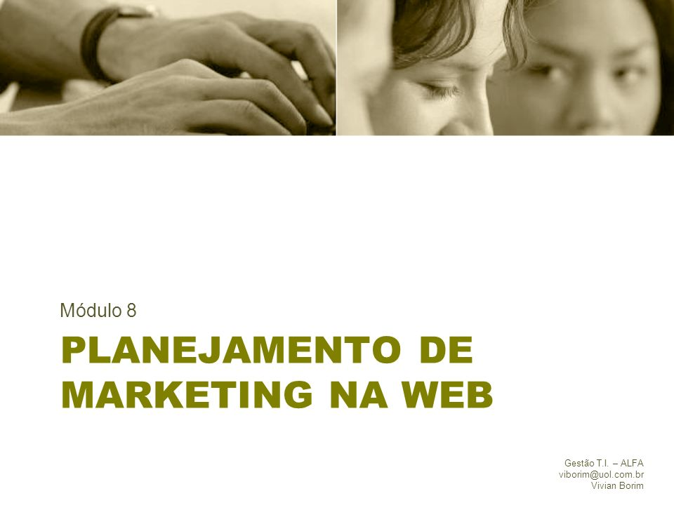 Planejamento de marketing na web