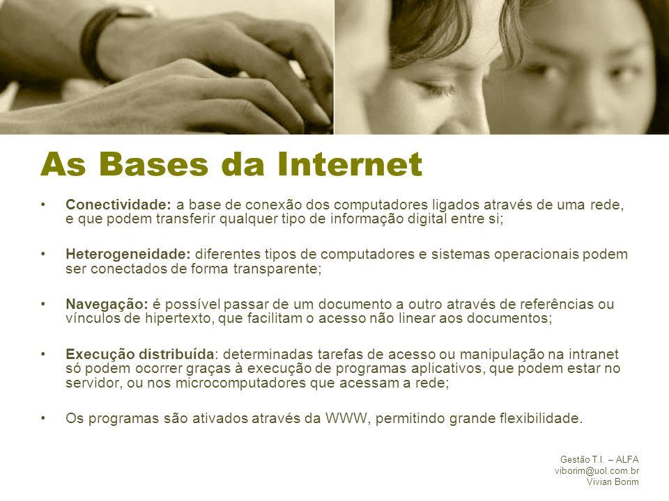 As Bases da Internet