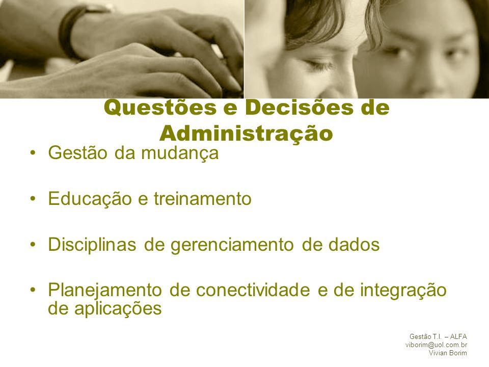 Questões e Decisões de Administração