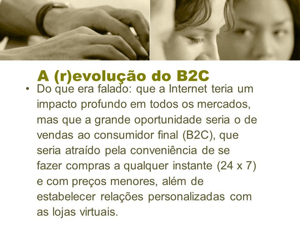 A (r)evolução do B2C