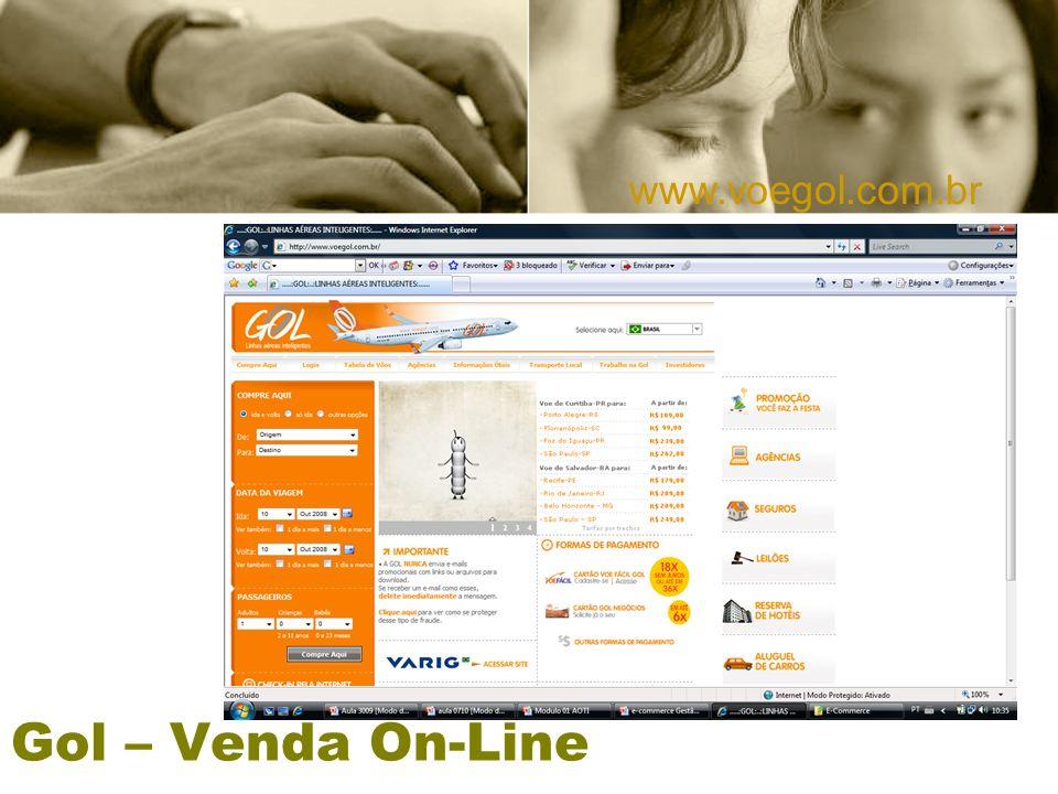 www.voegol.com.br Gol – Venda On-Line