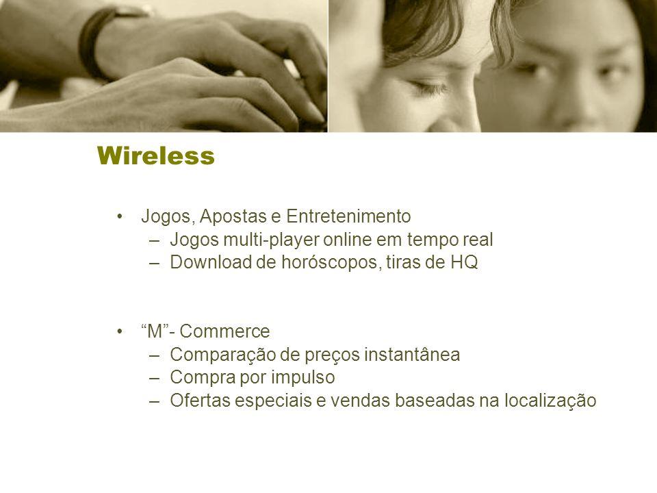 Wireless Jogos, Apostas e Entretenimento