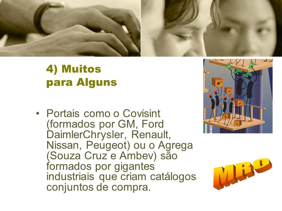 MRO 4) Muitos para Alguns