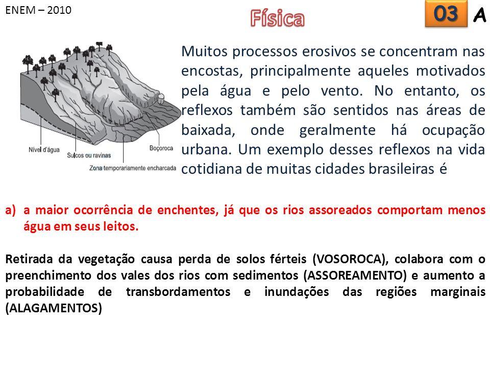 ENEM – 2010 Física. 03. A.