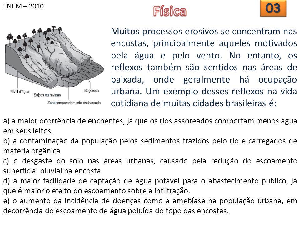 ENEM – 2010 Física. 03.