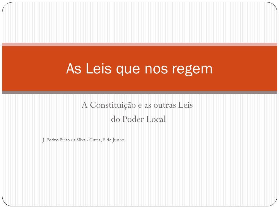 A Constituição e as outras Leis