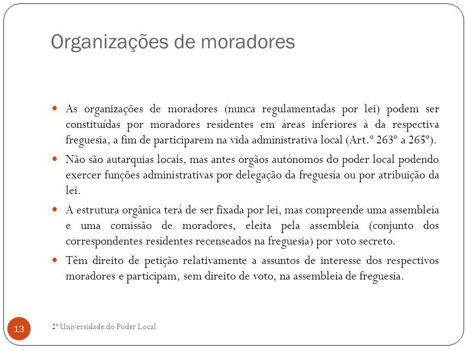 Organizações de moradores