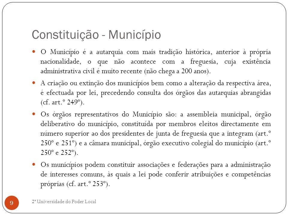 Constituição - Município