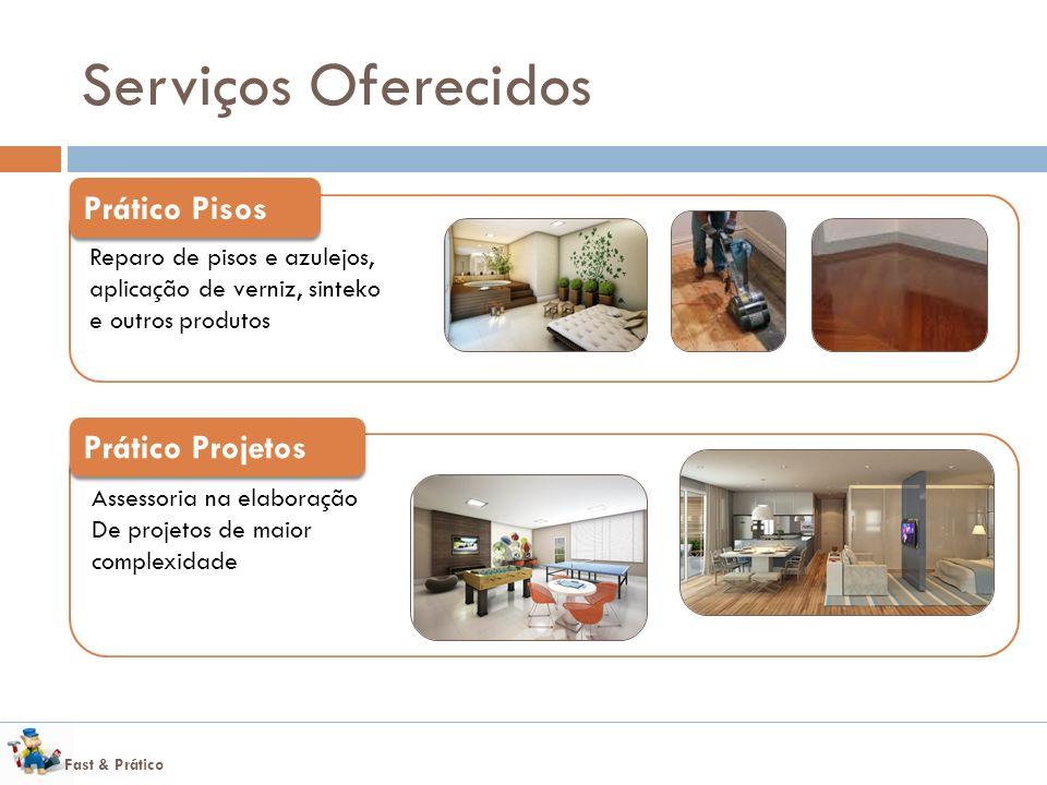 Serviços Oferecidos Prático Pisos Prático Projetos