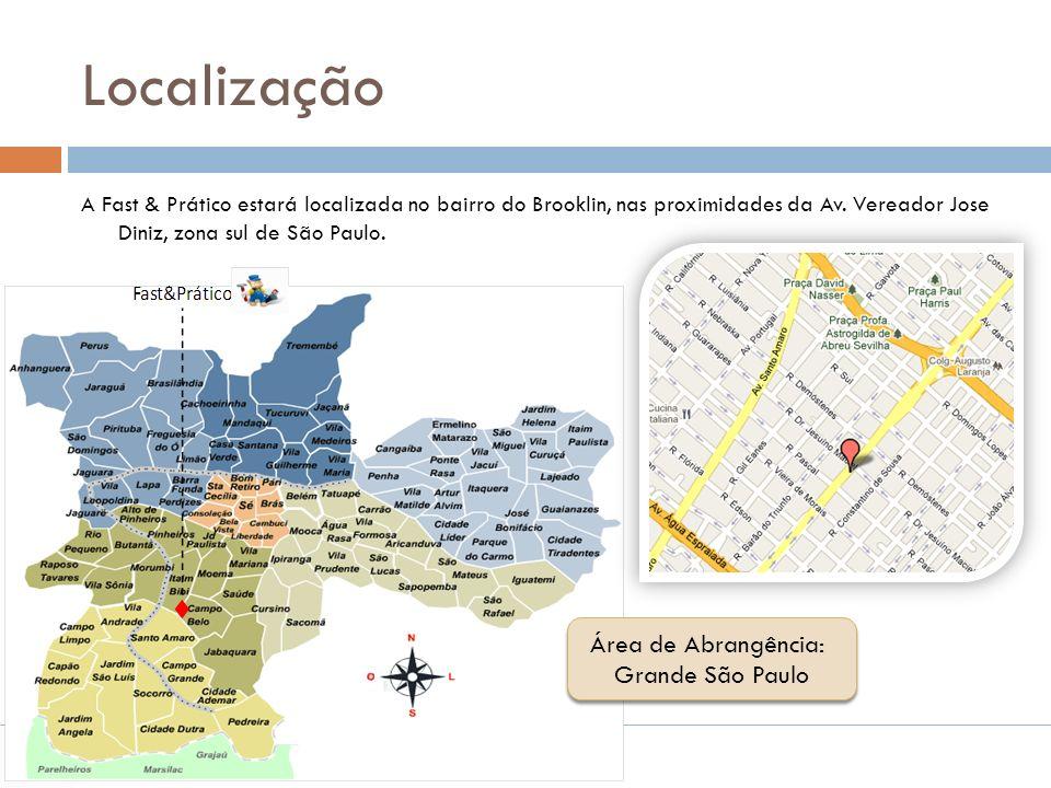 Localização Área de Abrangência: Grande São Paulo