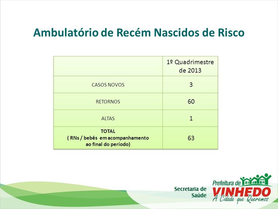 Ambulatório de Recém Nascidos de Risco ( RNs / bebês em acompanhamento