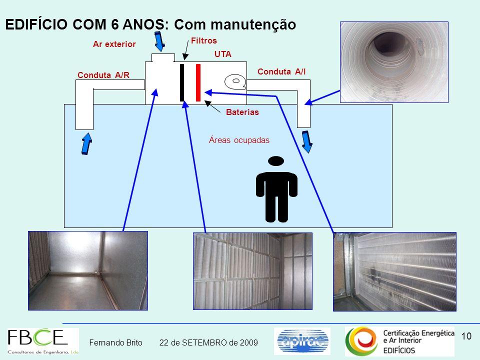 EDIFÍCIO COM 6 ANOS: Com manutenção