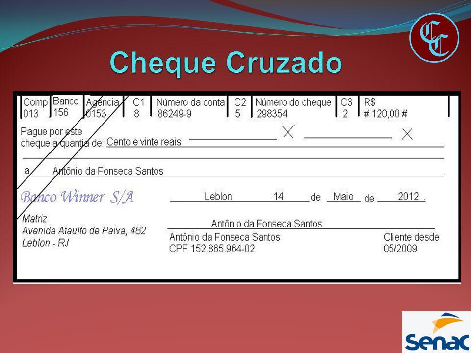 C Cheque Cruzado C