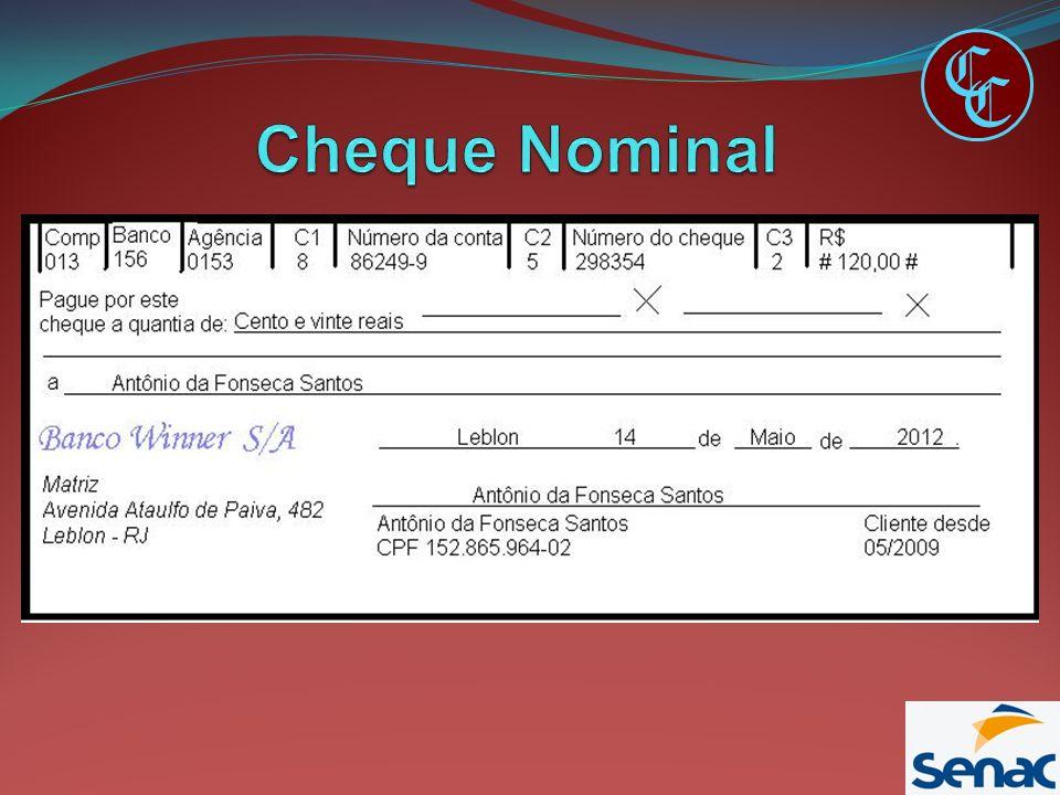 C C Cheque Nominal