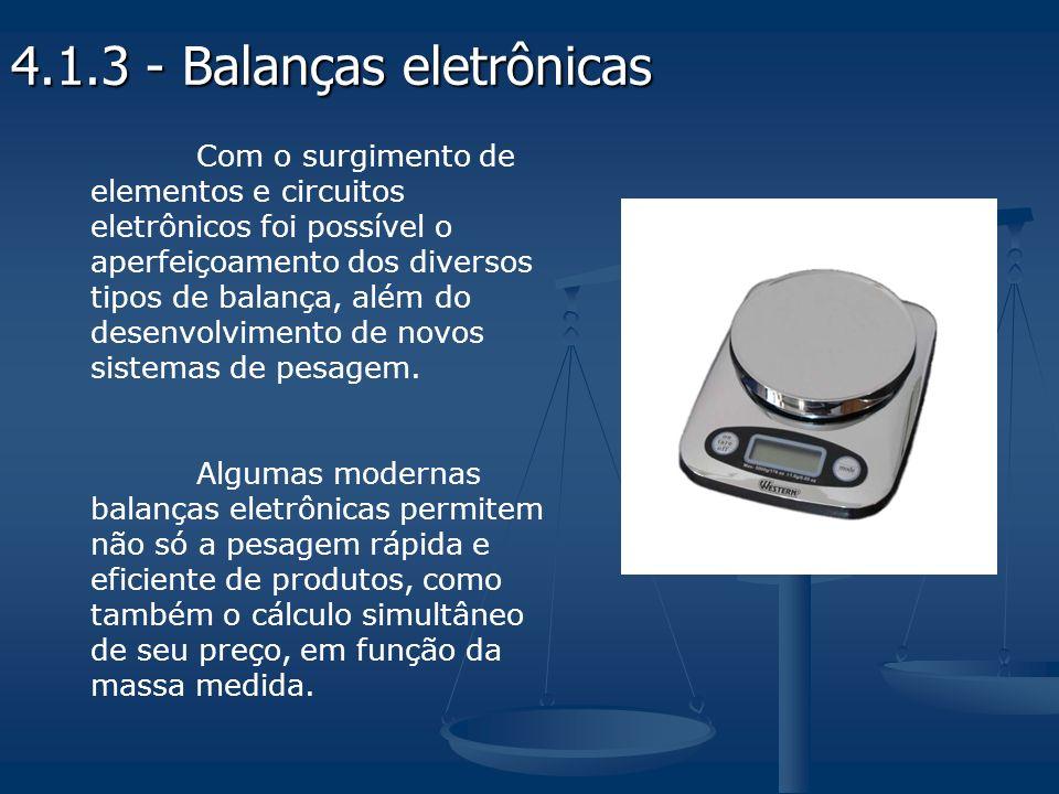 4.1.3 - Balanças eletrônicas