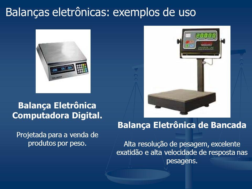Balança Eletrônica Computadora Digital. Balança Eletrônica de Bancada