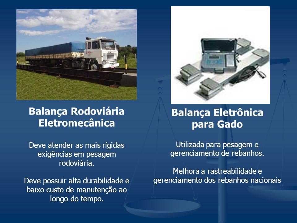 Balança Rodoviária Eletromecânica Balança Eletrônica para Gado