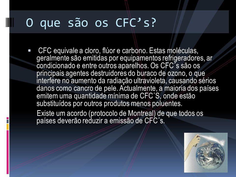O que são os CFC's