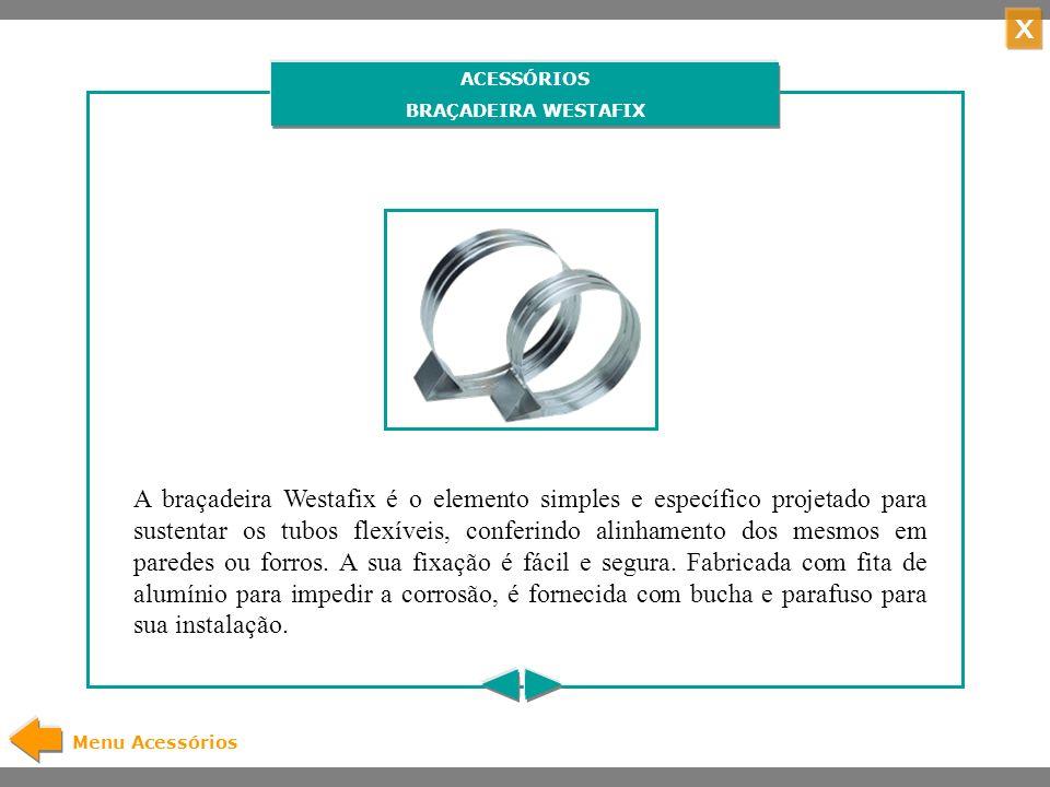 ACESSÓRIOS BRAÇADEIRA WESTAFIX.