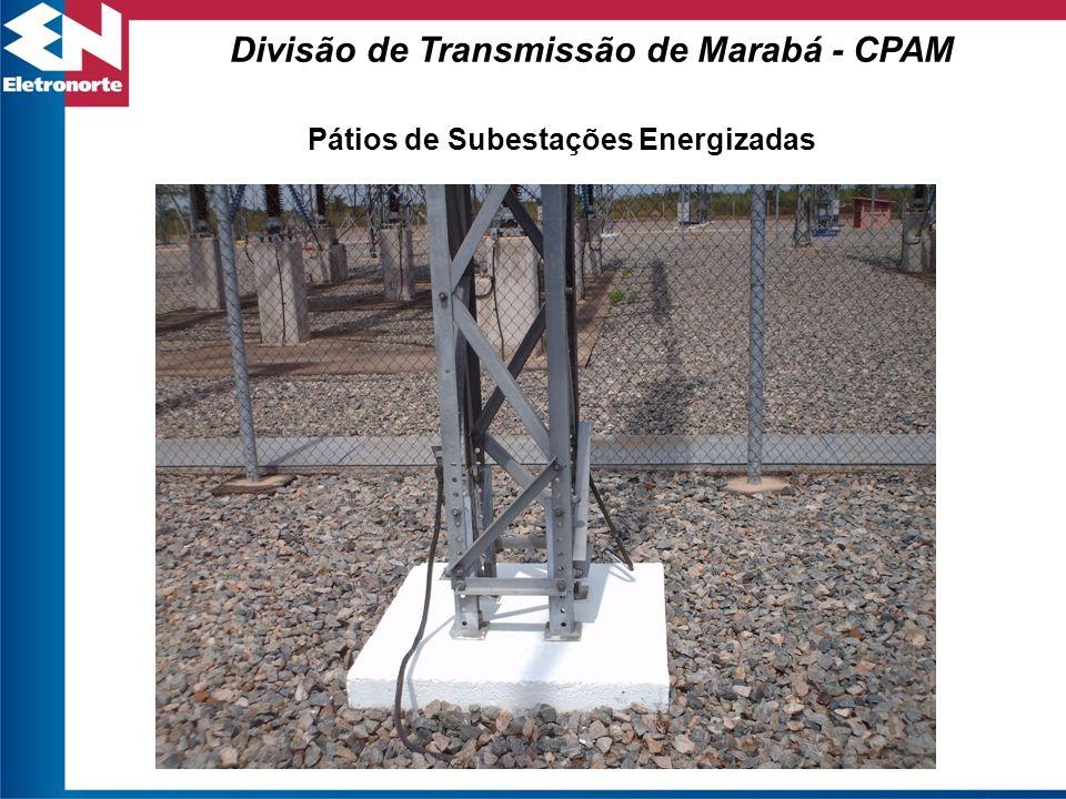 Pátios de Subestações Energizadas