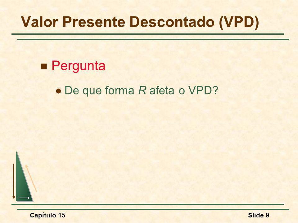 Valor Presente Descontado (VPD)