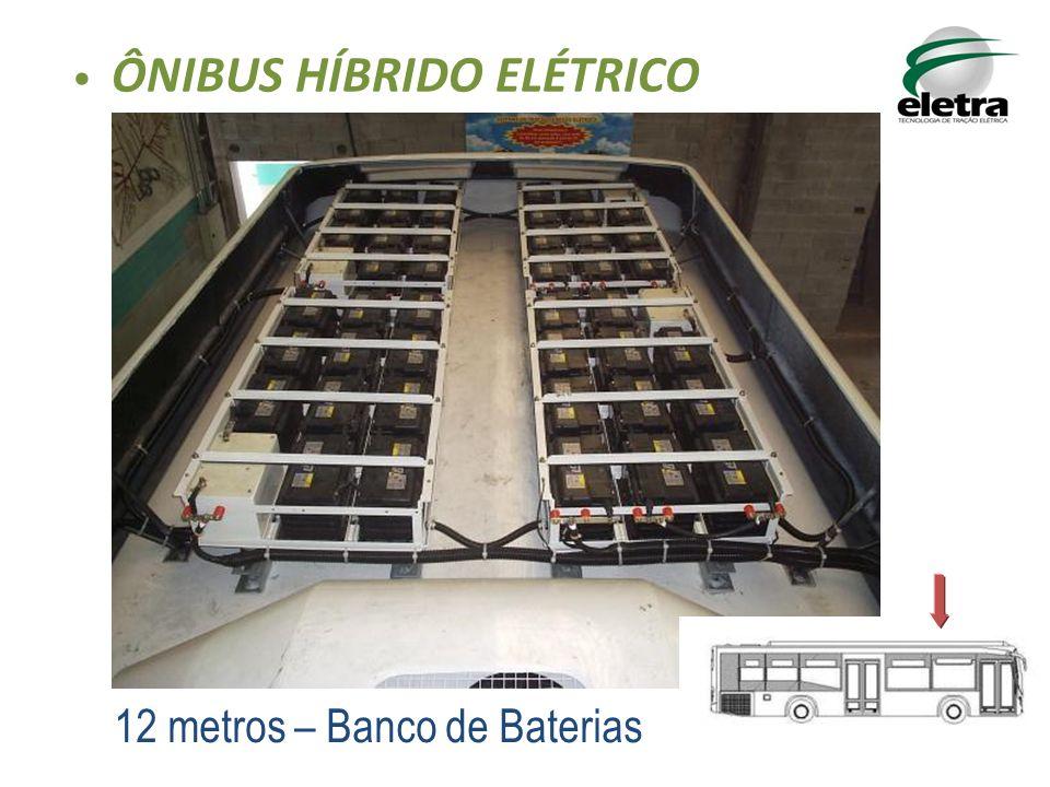 12 metros – Banco de Baterias