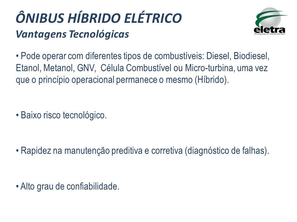 ÔNIBUS HÍBRIDO ELÉTRICO