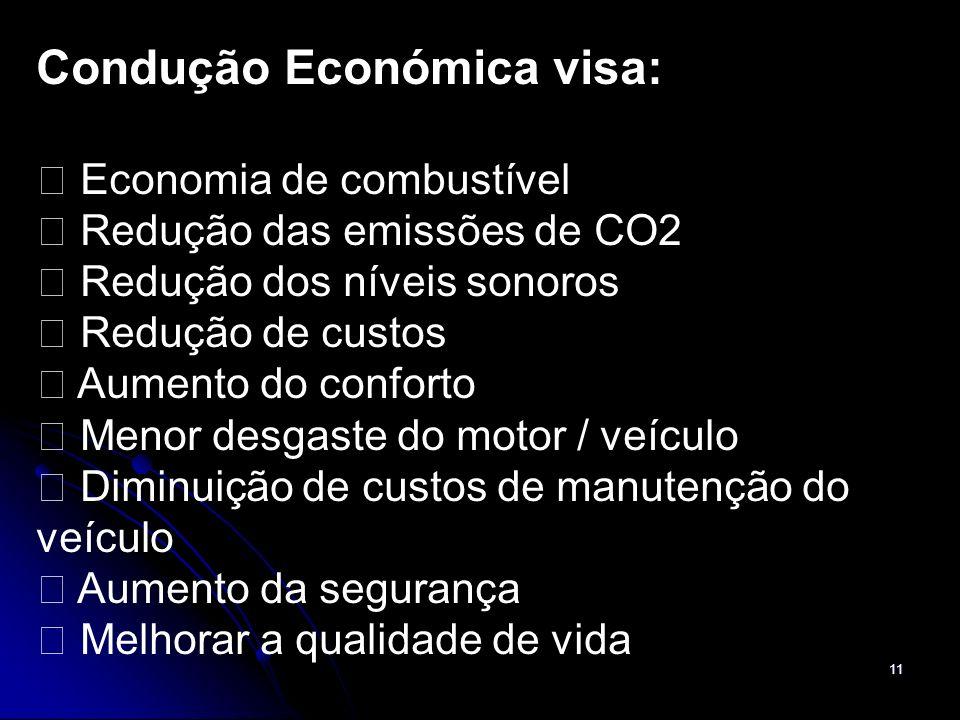 Condução Económica visa: