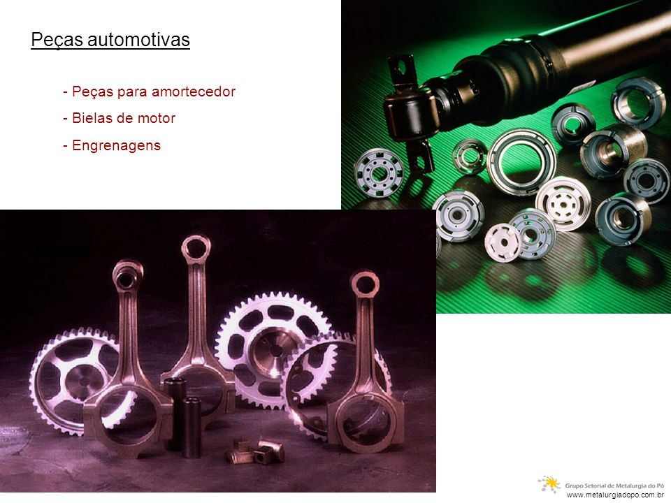 Peças automotivas - Peças para amortecedor - Bielas de motor