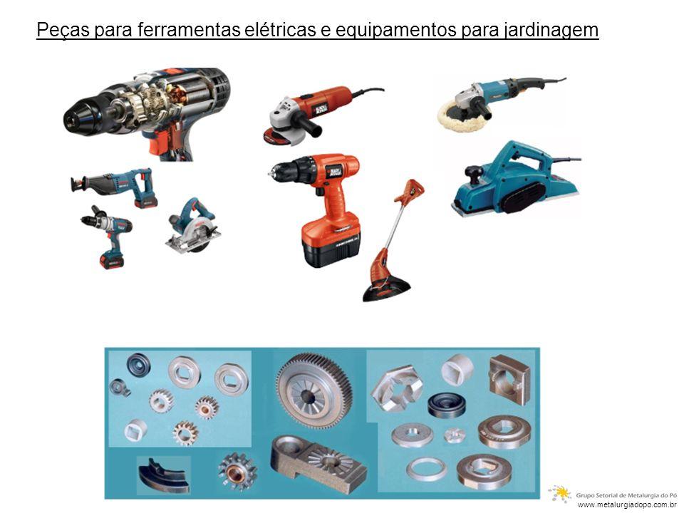 Peças para ferramentas elétricas e equipamentos para jardinagem