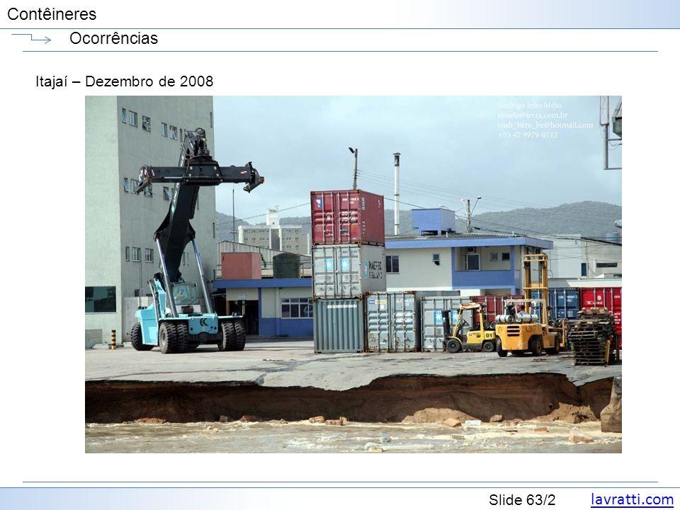 Ocorrências Itajaí – Dezembro de 2008
