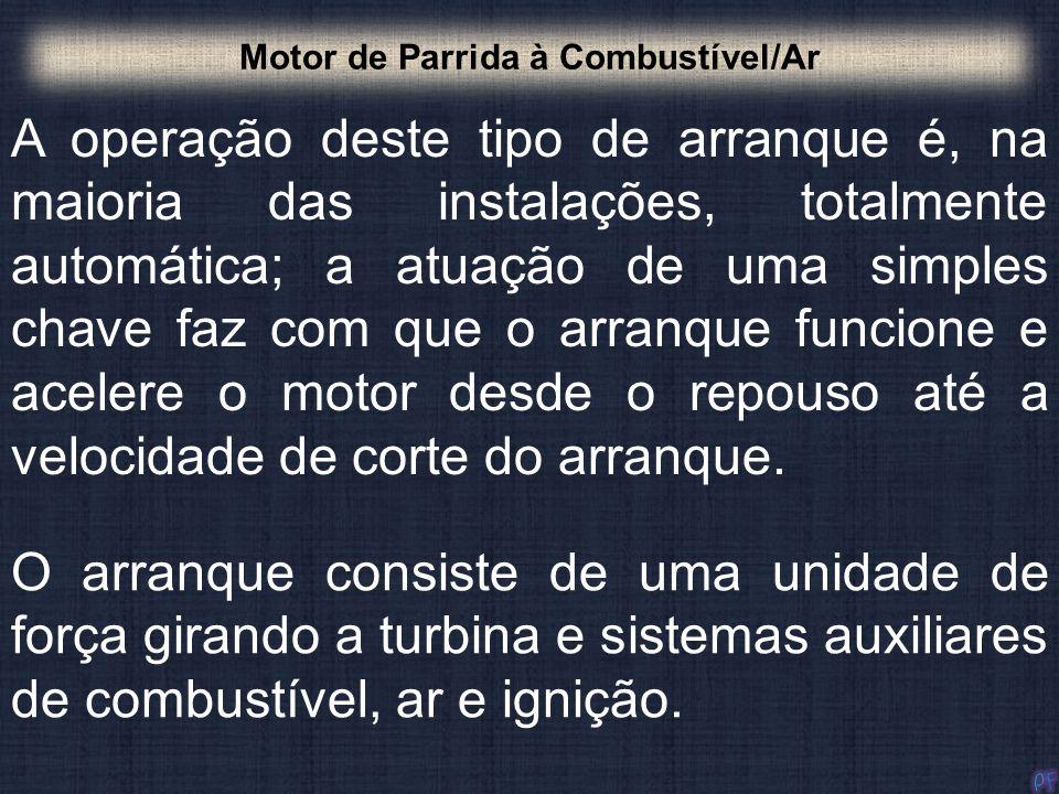 Motor de Parrida à Combustível/Ar