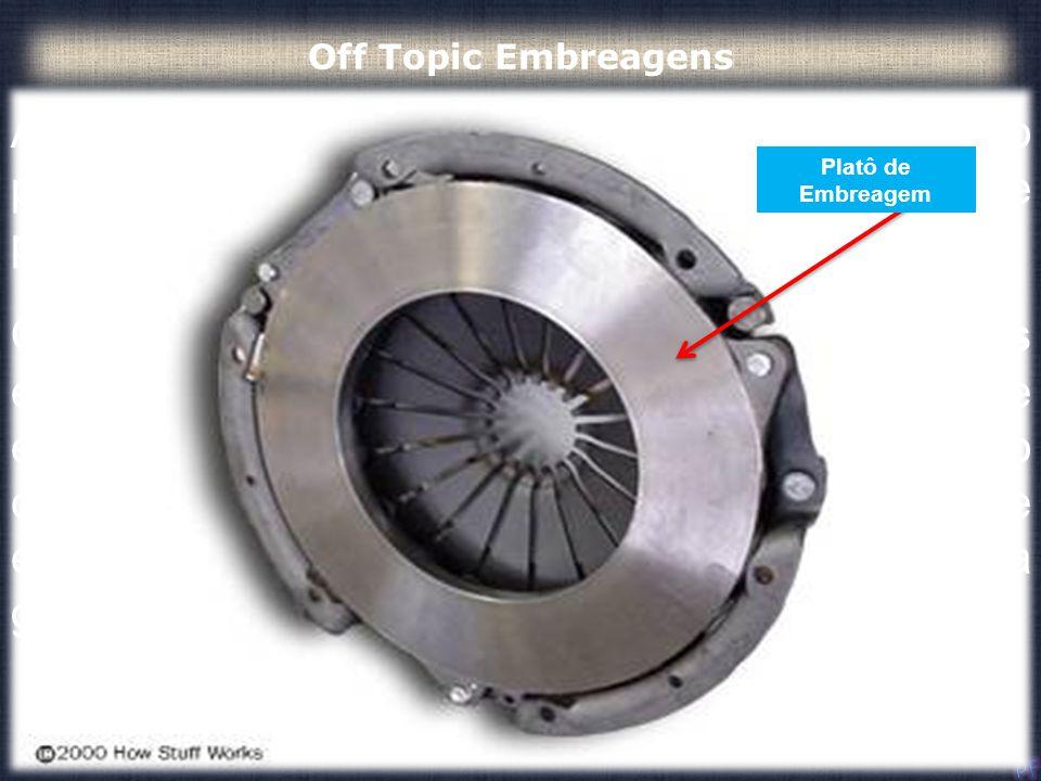 Off Topic Embreagens A embreagem funciona devido ao atrito entre o platô de embreagem, por meio da sua placa de pressão, e o volante do motor.