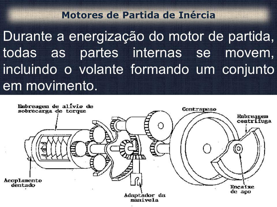 Motores de Partida de Inércia