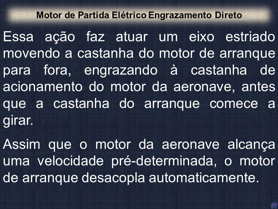 Motor de Partida Elétrico Engrazamento Direto