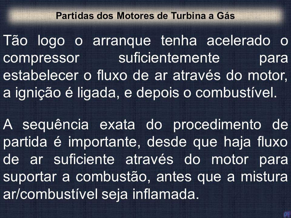 Partidas dos Motores de Turbina a Gás