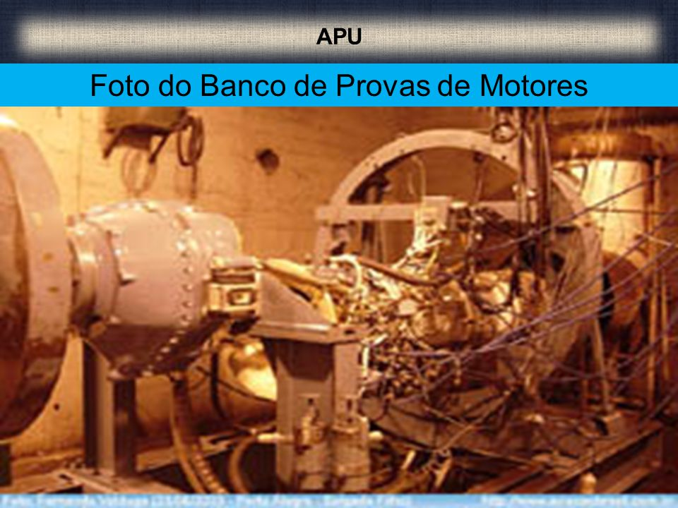 Foto do Banco de Provas de Motores